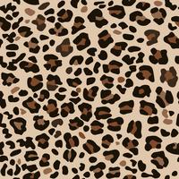 Imprimé léopard marron.