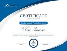 Modèle de certificat de vecteur