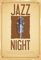 Jazz festival vector illustration