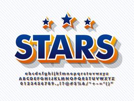 3d Font Baseball Alphabet