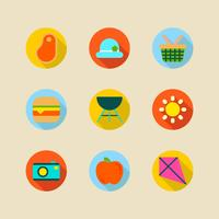 Colorful Summer Icon