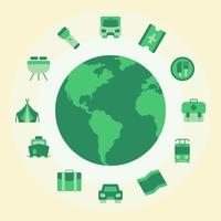 Earth Summer Icons
