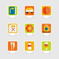 Summer Promotion Sign Icons