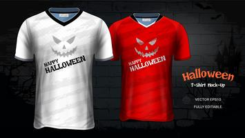 Halloween kostym T-shirts Mockup Mall.
