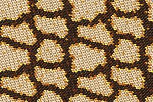 Nahtloser Hintergrund der Pythonhaut auf Vektorgrafik.