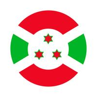 Drapeau rond du burundi