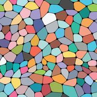 Colorful seamless background on mosaic style.