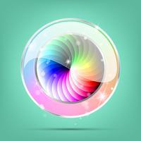 Bouton de couleur