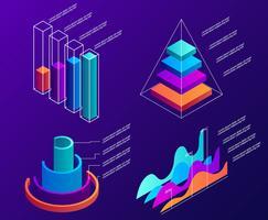 3D Infographic elementen