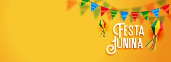 festa junina banner festa latino americana