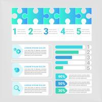 Éléments d'infographie vectorielle