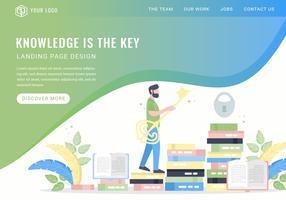 El conocimiento del vector es la página de inicio clave