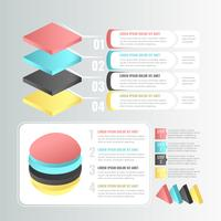 Vector 3D Infographic Elements