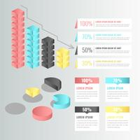 Éléments d'infographie 3D vectoriels