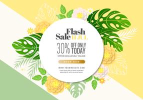 Vector Flash Sale Banner