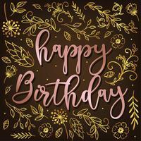 Happy Birthday Vector Design