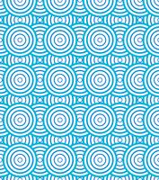 Abstract circles spiral pattern blue and white background and texture.