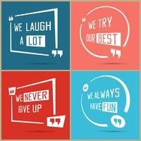 Quote square design