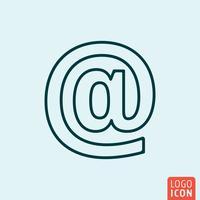 Diseño de líneas de iconos