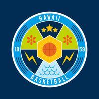 Badge de basketball