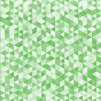 Abstract striped geometric triangle pattern green color background and texture.