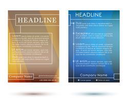 Brochures vector