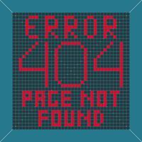 Error message background
