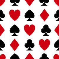 Casino poker naadloze patroon