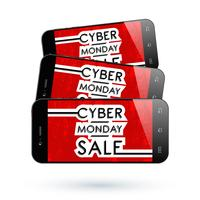 Cell Phone Cyber Monday4 vector