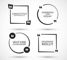 Jeu de bulles de citation