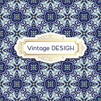 Antique, vintage background azulejos in Portuguese tiles style.