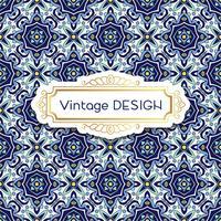 Antique, vintage background azulejos in Portuguese tiles style.
