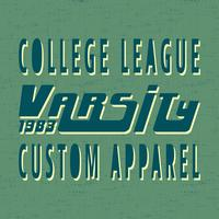 College vintage stempel