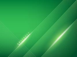 Elegant green creative lines background