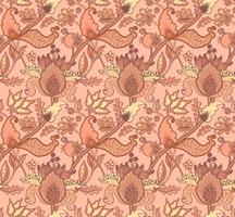 Ornamento nazionale indiano paisley per cotone, tessuti di lino.