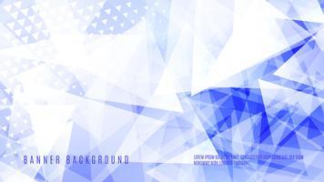 Design de fond abstrait triangle