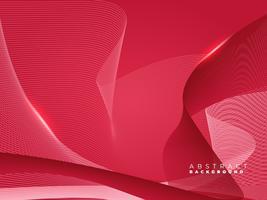 Fondo de líneas geométricas coloridas abstractas