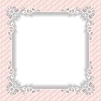 Bröllopsram papper