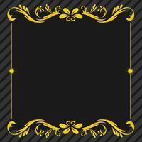 Ornament floral frame background