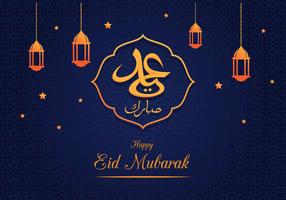 Eid Mubarak groet achtergrond
