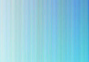Líneas verticales patrón de color azul degradado abstracto sobre fondo blanco. Diseño estilo semitono.