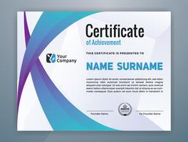 Multipurpose Modern Professional Certificate Template