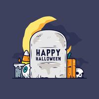 Vettore di Halloween