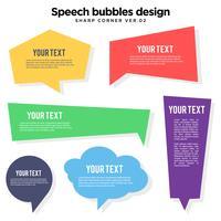 Speech Bubble variation set