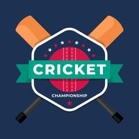 Cricket Sport Logo Badge Team Championship Template