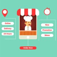 pedido de comida en línea
