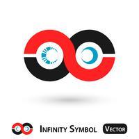 Conception du symbole de l'infini vecteur