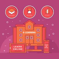 Set av E-Learning Vector
