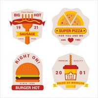 Premium Quality Fastfood Badge