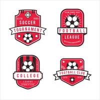 Pack of Modern Football Badge